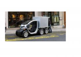 Snapshot of twizy delivery